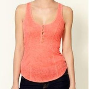 Free People Intimately Pointelle henley tank top